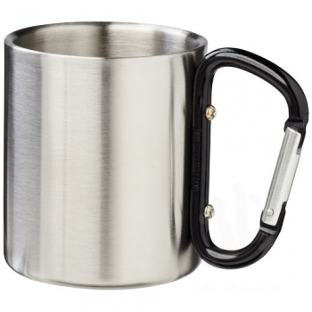 Alps 200 ml insulated mug with carabiner
