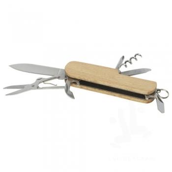Richard 7-function wooden pocket knife