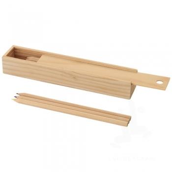Pines 12-piece, woooden pencil set