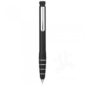 Jura dual aluminium ballpoint pen and highlighter