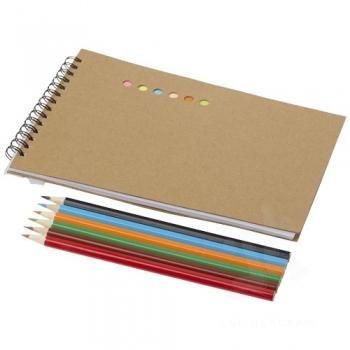 Hoppi colouring set