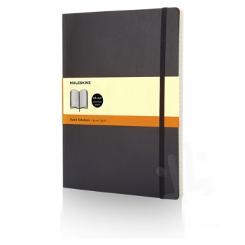 Classic XL soft cover notebook - ruled