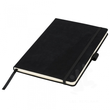 Carbony A5 suede notebook