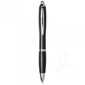 Nash wheat straw chrome tip ballpoint pen