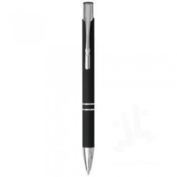 Moneta soft touch click ballpoint pen