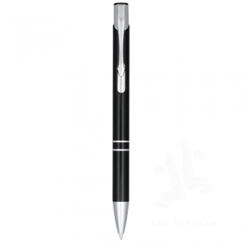 Moneta anodized aluminium click ballpoint pen