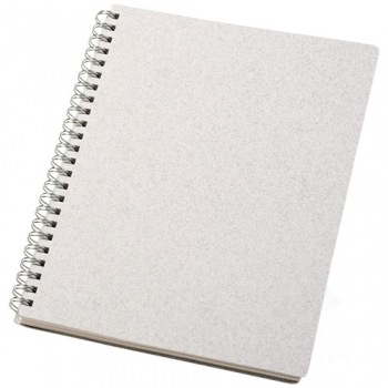 Bianco A5 size wire-o notebook