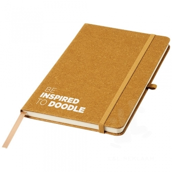Be Inspired leather pieces notebook