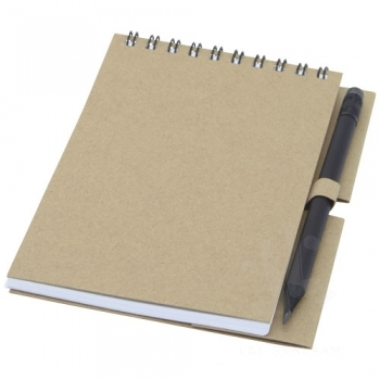 Luciano Eco wire notebook with pencil - small
