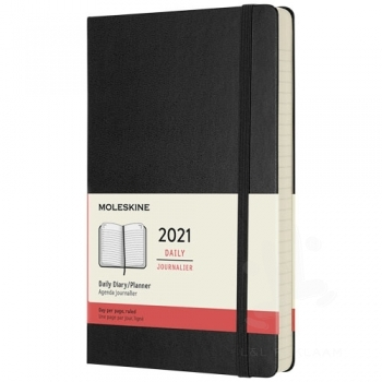 12M daily L hard cover planner