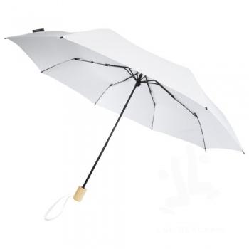 Birgit 21'' foldable windproof recycled PET umbrella
