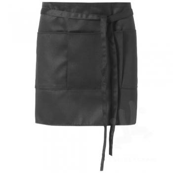 Lega short apron with 3 pockets