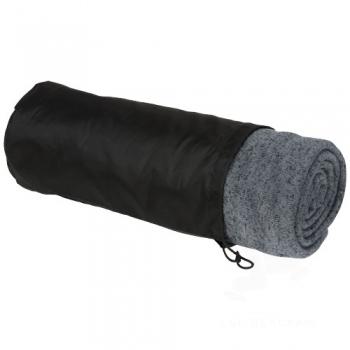 Pim heathered fleece plaid blanket