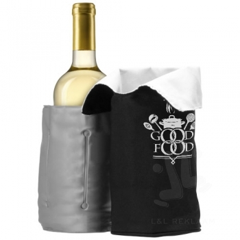 Chill foldable wine cooler sleeve