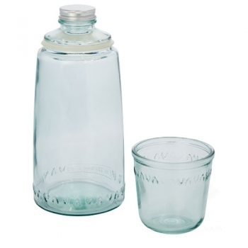 Vient 2-piece recycled glass set