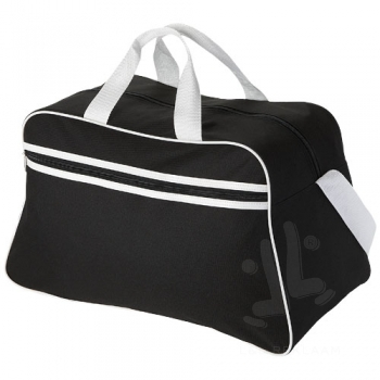 San Jose 2-stripe sports duffel bag