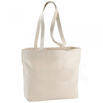 Ningbo 340 g/m² zippered cotton tote bag