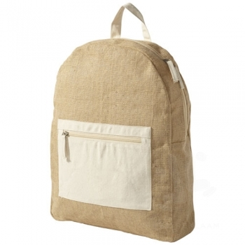 Organ backpack made from jute