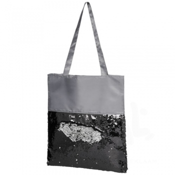 Mermaid sequin tote bag