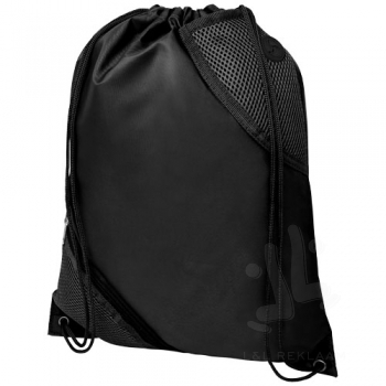 Oriole duo pocket drawstring backpack