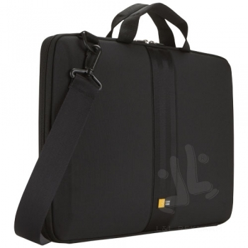 "Case Logic 16"" laptop sleeve with handles and strap"