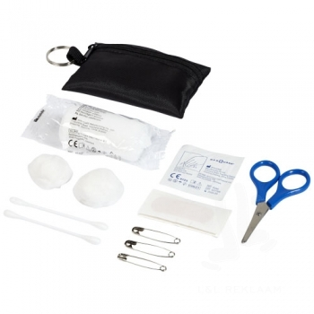 Valdemar 16-piece first aid keyring pouch