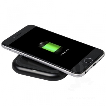 Radiant light-up logo wireless charging pad