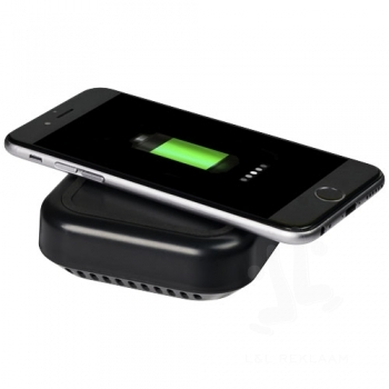 Coast Bluetooth® speaker and wireless charging pad