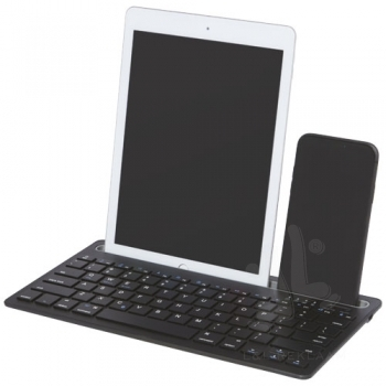 Hybrid multi-device keyboard with stand