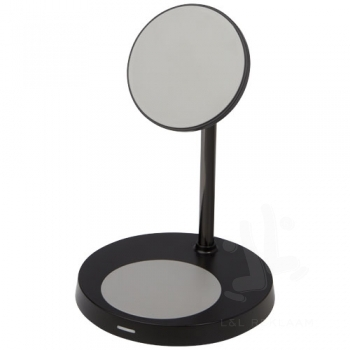 Magclick magnetic dual wireless charging stand