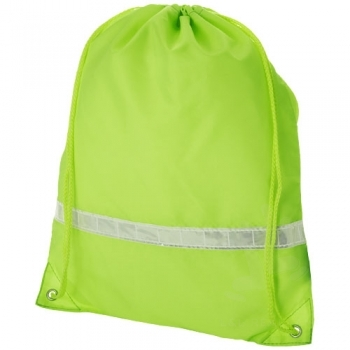 Premium reflective drawstring backpack