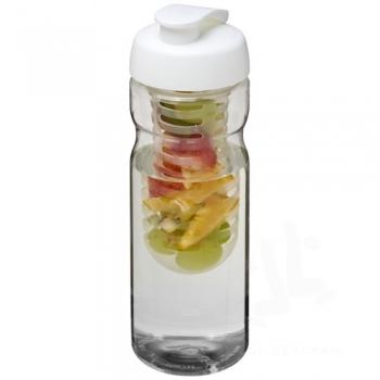 H2O Base® 650 ml flip lid sport bottle & infuser