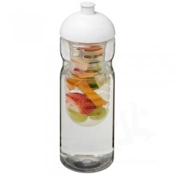 H2O Base® 650 ml dome lid sport bottle & infuser