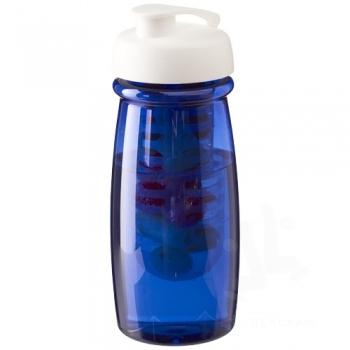 H2O Pulse® 600 ml flip lid sport bottle & infuser