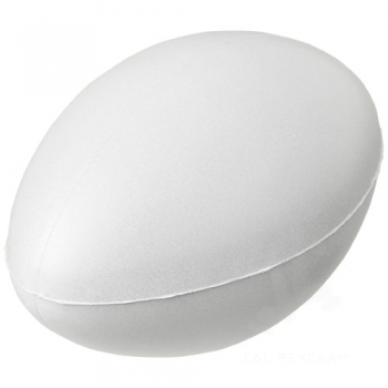 Ruby rugby ball-shaped stress reliever