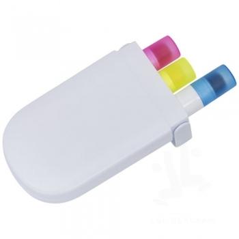 Trio gel highlighter set
