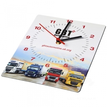 Brite-Clock® rectangular wall clock