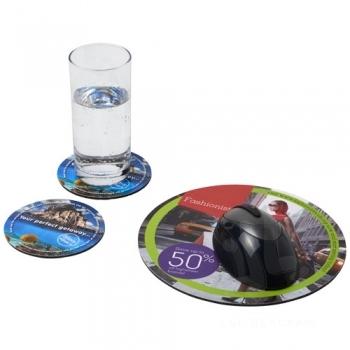 Q-Mat® mouse mat and coaster set combo 5