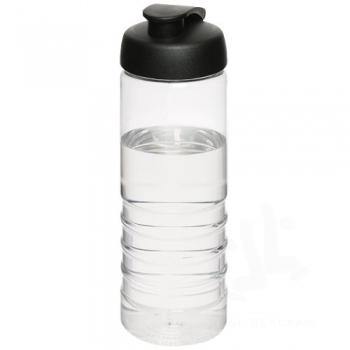 H2O Treble 750 ml flip lid sport bottle