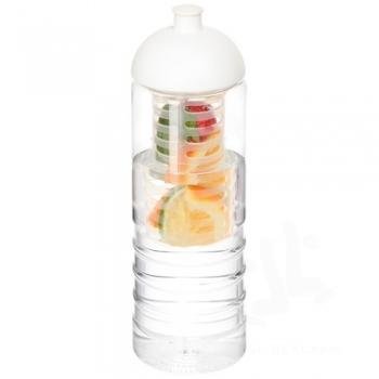H2O Treble 750 ml dome lid bottle & infuser