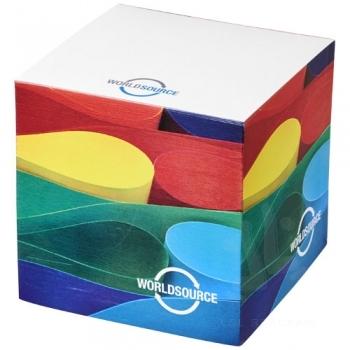Cube memo block small 75x75