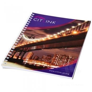 Desk-Mate® wire-o A5 notebook