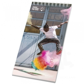 Desk-Mate® wire-o 1/3 A4 notebook