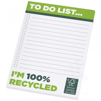Desk-Mate® A6 recycled notepad