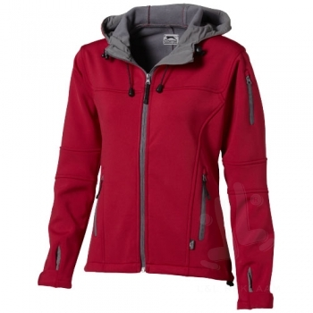 Match ladies softshell jacket