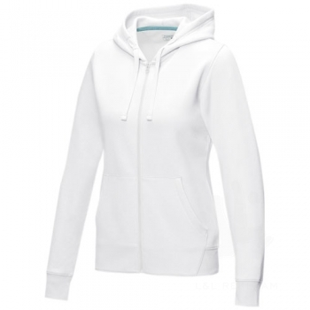 Ruby women's GOTS organic GRS recycled full zip hoodie