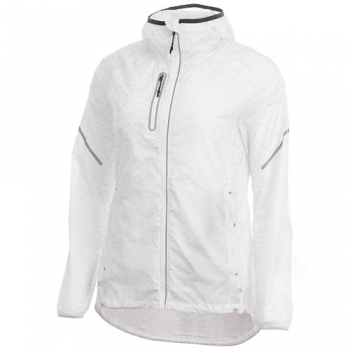 Signal reflective packable ladies jacket