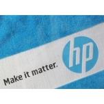 Saunalina, rätik - ribale sisse kootud logo