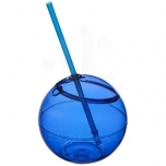 Fiesta 580 ml beverage ball with straw
