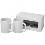 Ceramic mug 2-pieces gift set